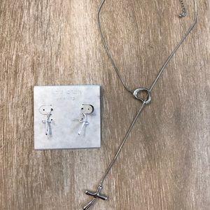 """Premier """"Token of Love"""" Necklace & Earrings"""